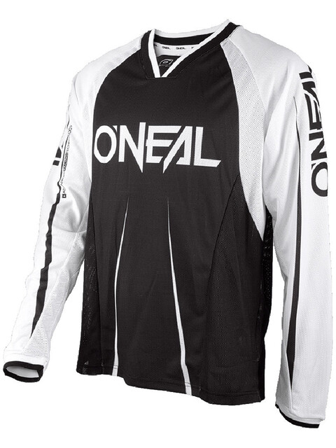 ONeal Element FR Miehet Pyöräilypaita pitkähihainen Blocker , valkoinen/musta